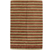 Link to 6' 7 x 9' 11 Reproduction Gabbeh Rug