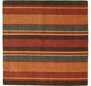 Link to 6' 7 x 6' 7 Reproduction Gabbeh Square Rug
