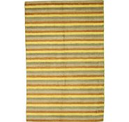 Link to 6' 3 x 9' 9 Reproduction Gabbeh Rug
