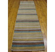 Link to 2' 9 x 9' 9 Reproduction Gabbeh Runner Rug
