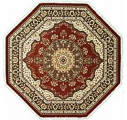Link to 9' 10 x 9' 10 Kashan Design Octagon Rug