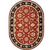 Link to 8' x 11' 5 Classic Agra Oval Rug