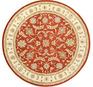 Link to 12' 1 x 12' 1 Classic Agra Round Rug