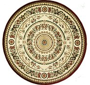 Link to 9' 10 x 9' 10 Classic Aubusson Round Rug