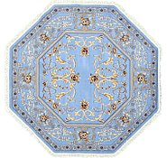Link to 8' 2 x 8' 2 Kerman Design Octagon Rug