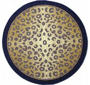 Link to 5' x 5' Reproduction Gabbeh Round Rug