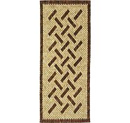 Link to 2' 6 x 10' Wooden Wood Runner Rug