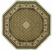 Link to 8' 2 x 8' 2 Tabriz Design Octagon Rug