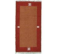 Link to 2' 3 x 4' 7 Indo Tibet Rug