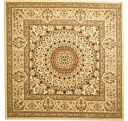 Link to 9' 10 x 9' 10 Isfahan Design Square Rug