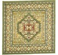 Link to 5' x 5' Heriz Design Square Rug