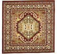 Link to 5' x 5' Heriz Design Square Rug