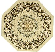 Link to 9' 10 x 9' 10 Mashad Design Octagon Rug