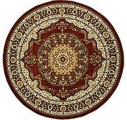 Link to 8' 2 x 8' 2 Kashan Design Round Rug