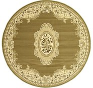Link to 8' 2 x 8' 2 Kerman Design Round Rug