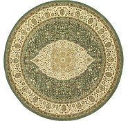 Link to 8' 2 x 8' 2 Kerman Design Round Rug
