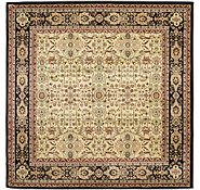 Link to 6' 7 x 6' 7 Kerman Design Square Rug