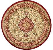 Link to 9' 10 x 9' 10 Kashan Design Round Rug