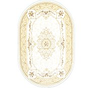 Link to 6' 7 x 9' 10 Carved Aubusson Oval Rug