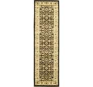 Link to 2' 2 x 7' 7 Kashan Design Runner Rug