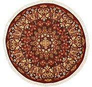 Link to 6' x 6' Mashad Design Round Rug