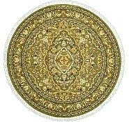 Link to 8' x 8' Kashan Design Round Rug