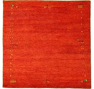Link to 6' 7 x 6' 7 Indo Gabbeh Square Rug