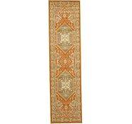 Link to 2' 7 x 10' Heriz Design Runner Rug