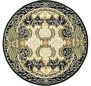Link to 4' 11 x 4' 11 Classic Aubusson Round Rug
