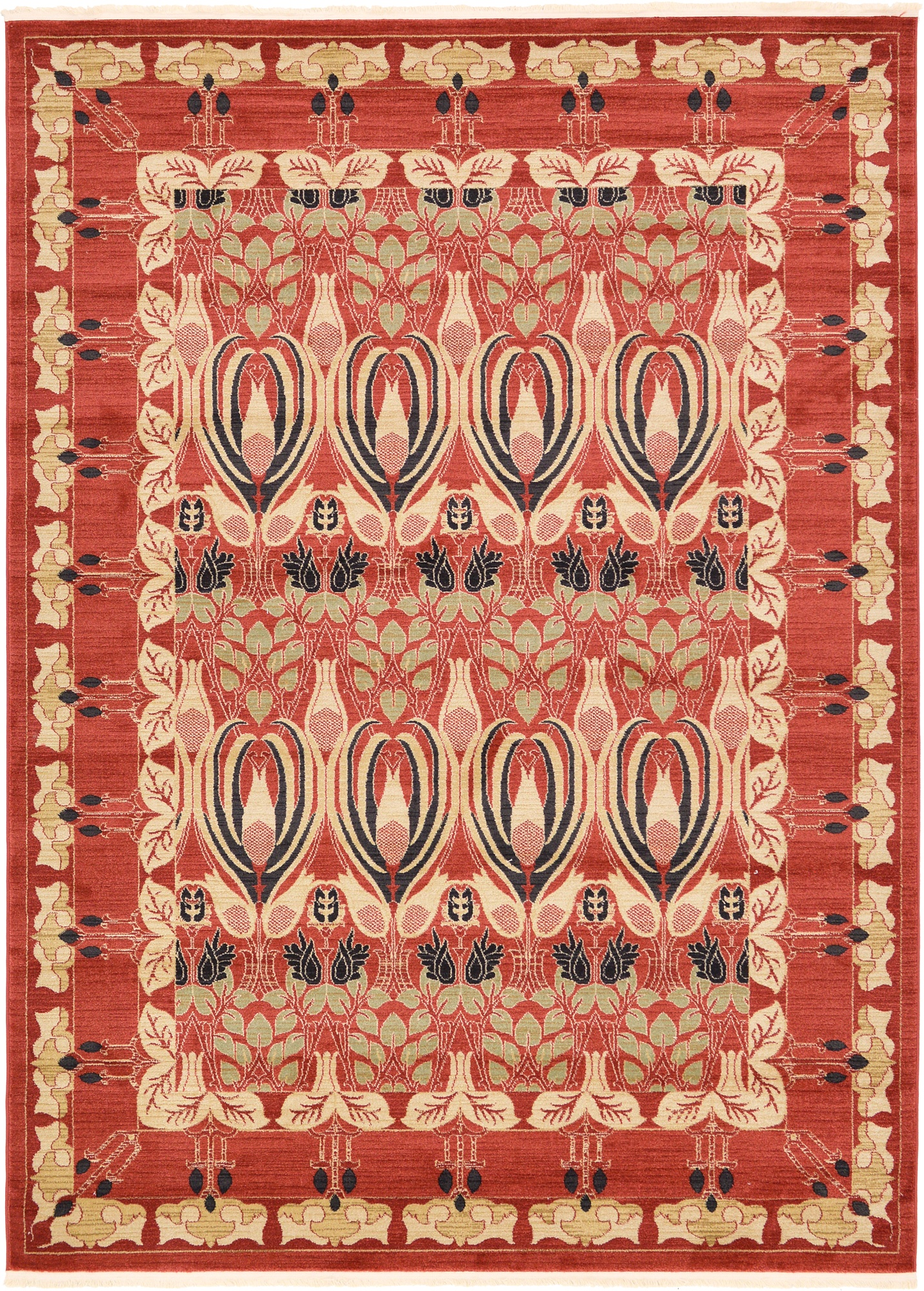 Traditional Allover Large Oriental Area Rug Small Carpet