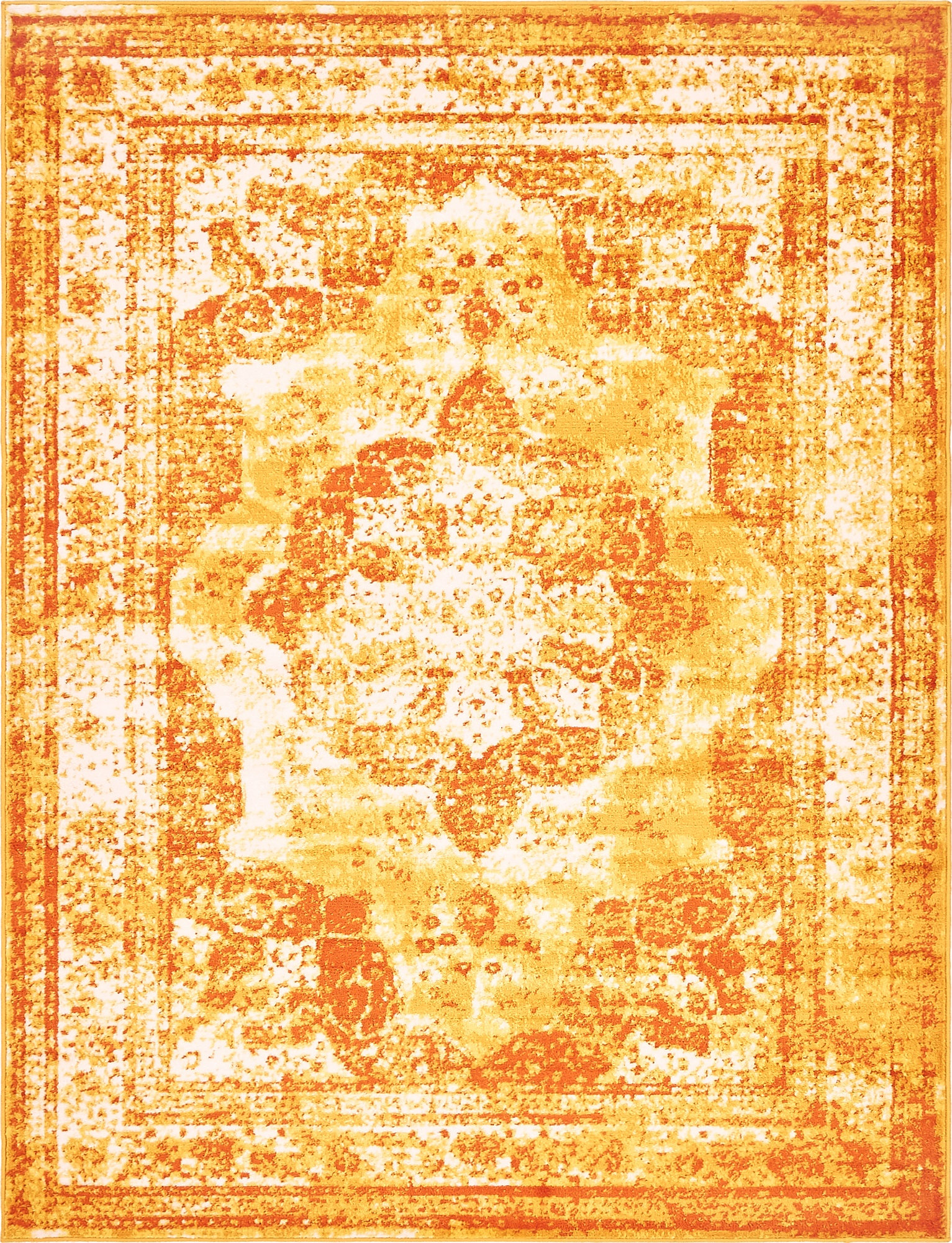 Transitional large persian design area rug faded small for Vintage style area rugs